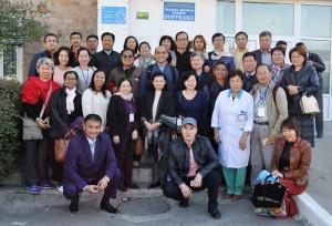 Делегация из Королевства Камбоджа посетила Балыкчинскую больницу