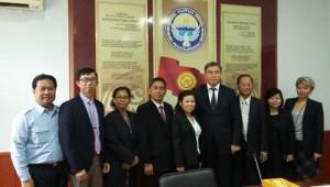 Камбоджийцы вооружились опытом ФОР в Кыргызстане